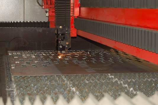 Découpe laser > Découpe laser Acier et inox : jusqu'à 25mm